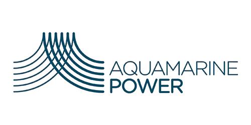 Aquamarine power logo