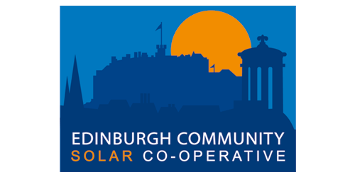 Edinburgh Community Solar co-operative logo