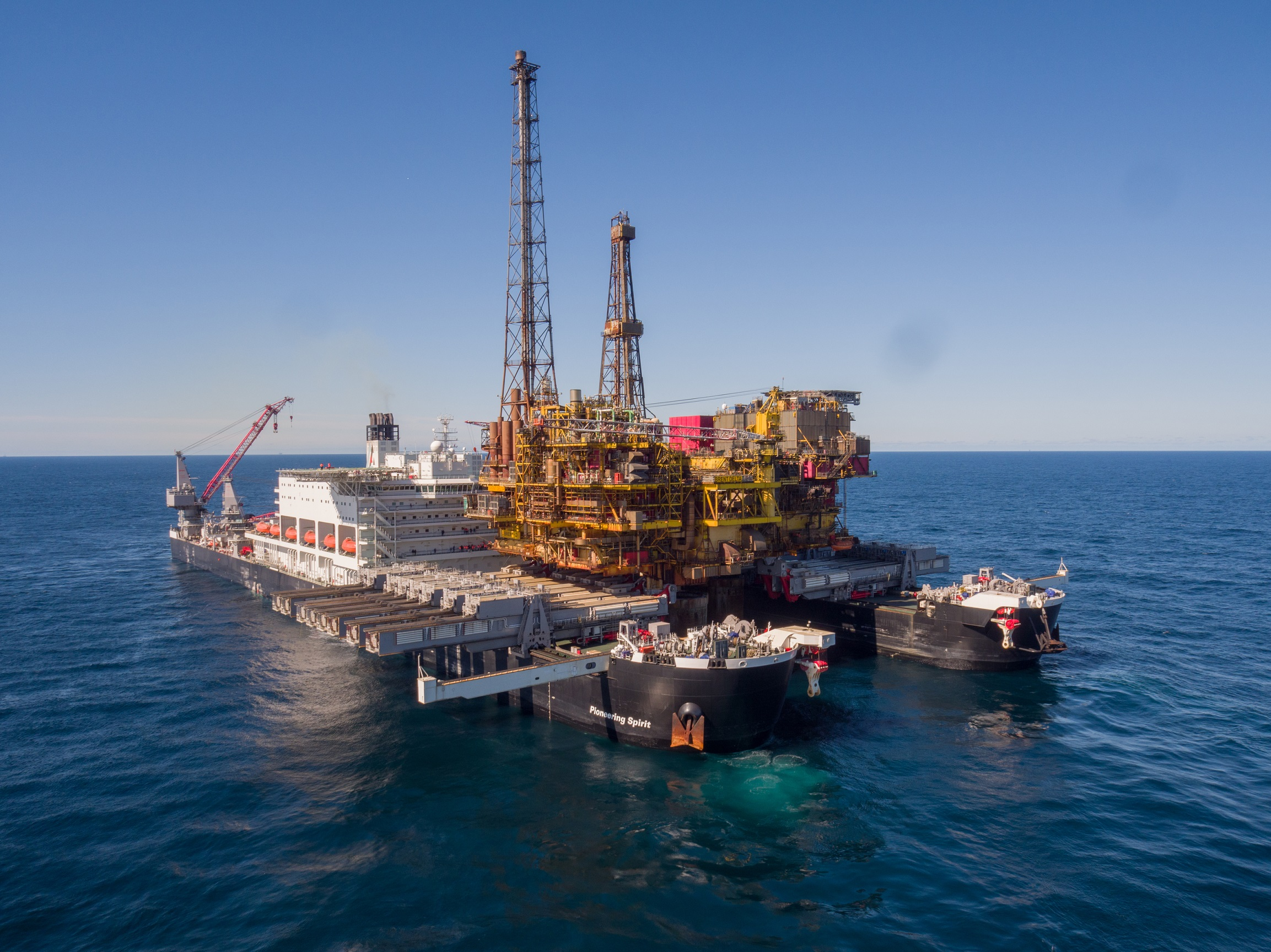 Buchan Alpha heralds a green start to North Sea decommissioning