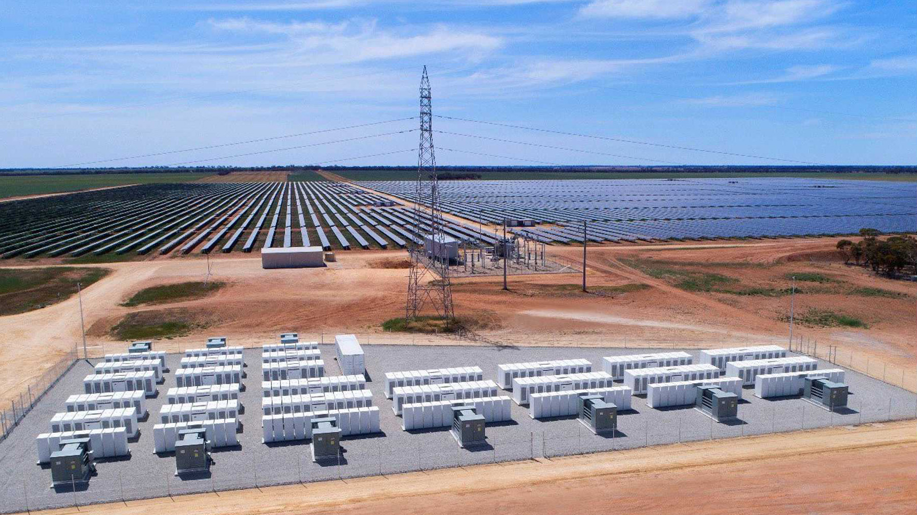 50MWh Tesla big battery South Australia